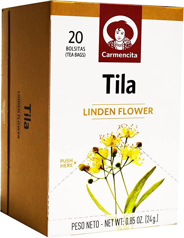 Spanish Linden Flower Tea Tila Tilo By Carmencita 20 Tea Bags