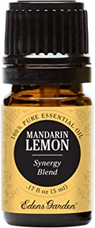 Edens Garden Mandarin Lemon Essential Oil Synergy Blend, 100% Pure Therapeutic Grade (Highest Quality Aromatherapy Oils- Cold Flu & Pain), 5 ml