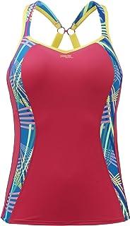 Panache 7345 Sports Vest with Optional Racer Back Print Multi 30DD