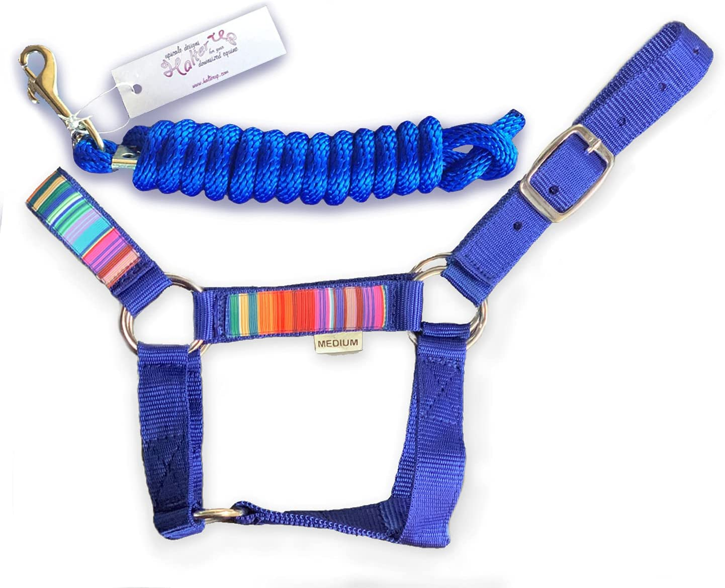 HalterUp Max 88% OFF Cute and Stylish Miniature Rope Donkey Lead specialty shop Halters
