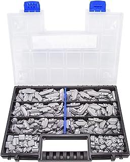 225 x slagvikter aluminiumfälgar balansvikter 5-30 g sortiment
