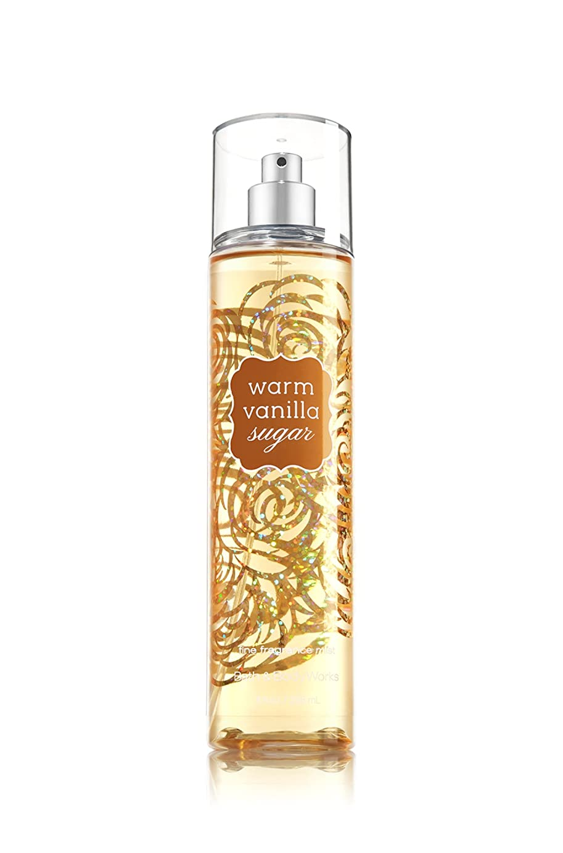 言語学雄弁値するバス&ボディワークス ウォームバニラシュガー ファイン フレグランスミスト Warm Vanilla Sugar Fine Fragrance Mist