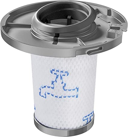 Rowenta Filtre séparateur pour aspirateur sans fil X-Force Flex 8.60 de Rowenta, Lavable, Blanc et gris ZR009006