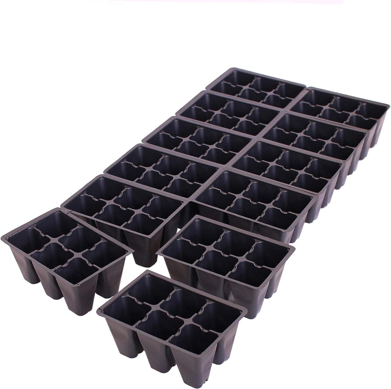 販売実績No.1 Handy Pantry Black Plastic Garden Tray Sheets Inserts 超激安特価 - 72 of 50