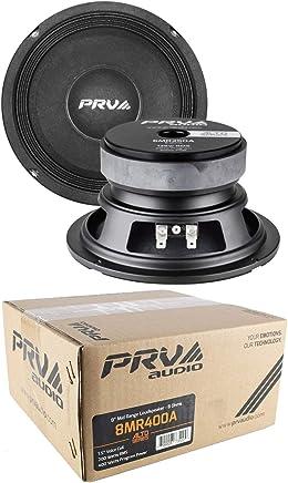 "$85 Get 2 x PRV Audio 8MR400A Mid Range 8"" Pro Audio Loud Speaker 8 ohm 800 Watts"