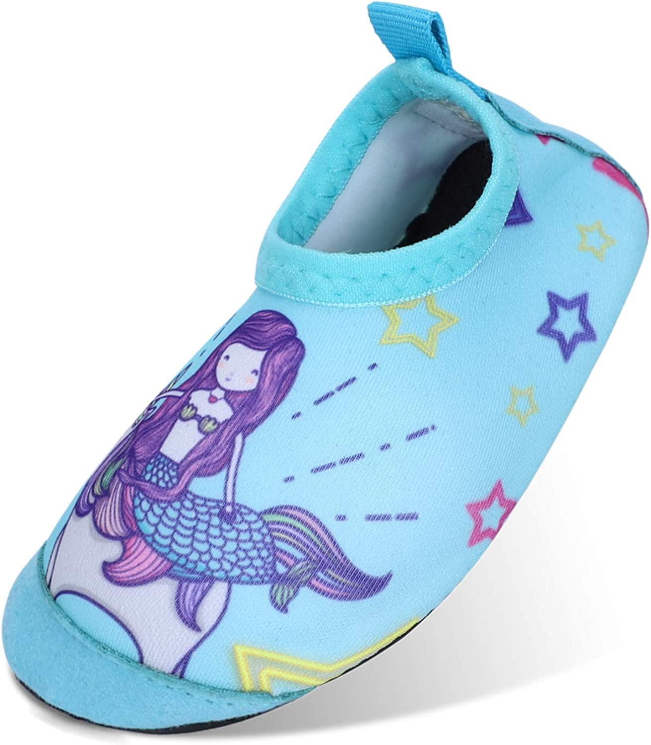 ESTAMICO Large special price Kids Swim Water Shoes Lightweight Non-S Challenge the lowest price of Japan Cartoon Toddler
