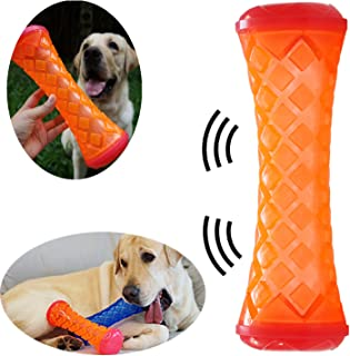 DogieLyn Dog Squeaky Toys for Aggressive Chewers Indestructible Chew Bones for Large Dogs Interactive Throw Toy Tuff Tug of War Pet Toy  Perfects for Interactive Training Cleaning Teeth