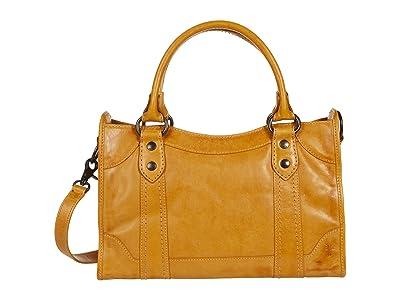 Frye Melissa Satchel (Sunflower) Satchel Handbags
