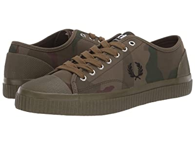 Fred Perry Camouflage Hughes Low (Iris Tundra Camo/Black) Men