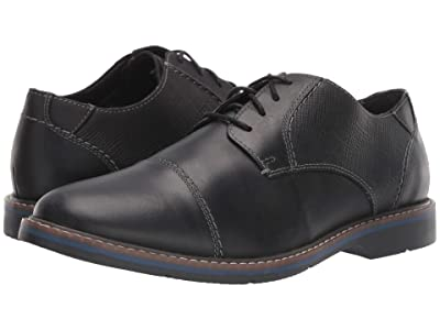 Nunn Bush Pasadena Cap Toe Oxford (Black) Men