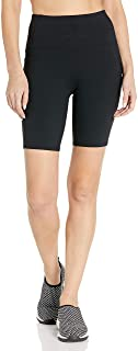 "Skechers Women's Walk Go Flex High Waisted 8"" Bike Short with Pockets"