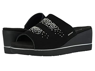 Mephisto Enzia Spark (Black Velcalf Premium/Black Bottom) Women