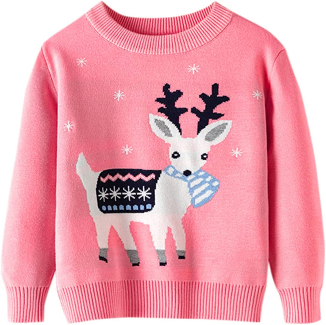 Doad Toddler Youth Teen Boys Girls Christmas Cartoo Large-scale Max 52% OFF sale Sweater Cute