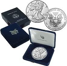 2019 American Silver Eagle Coin $1 Brilliant Uncirculated US Mint Box