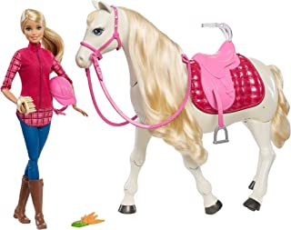 Mattel Barbie and The Magnificent Horse - 3 Years & Above (FRV36)