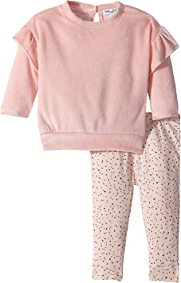 Velour Sweatshirt Set (Infant)