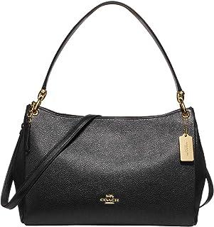 Pebbled Leather Mia Shoulder Bag