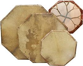 Shaman drum 8-corners with goat skin, Frame Drum, handmade … (16 inch)