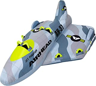 Airhead Jet Fighter | 1-4 Rider Towable Tube for Boating