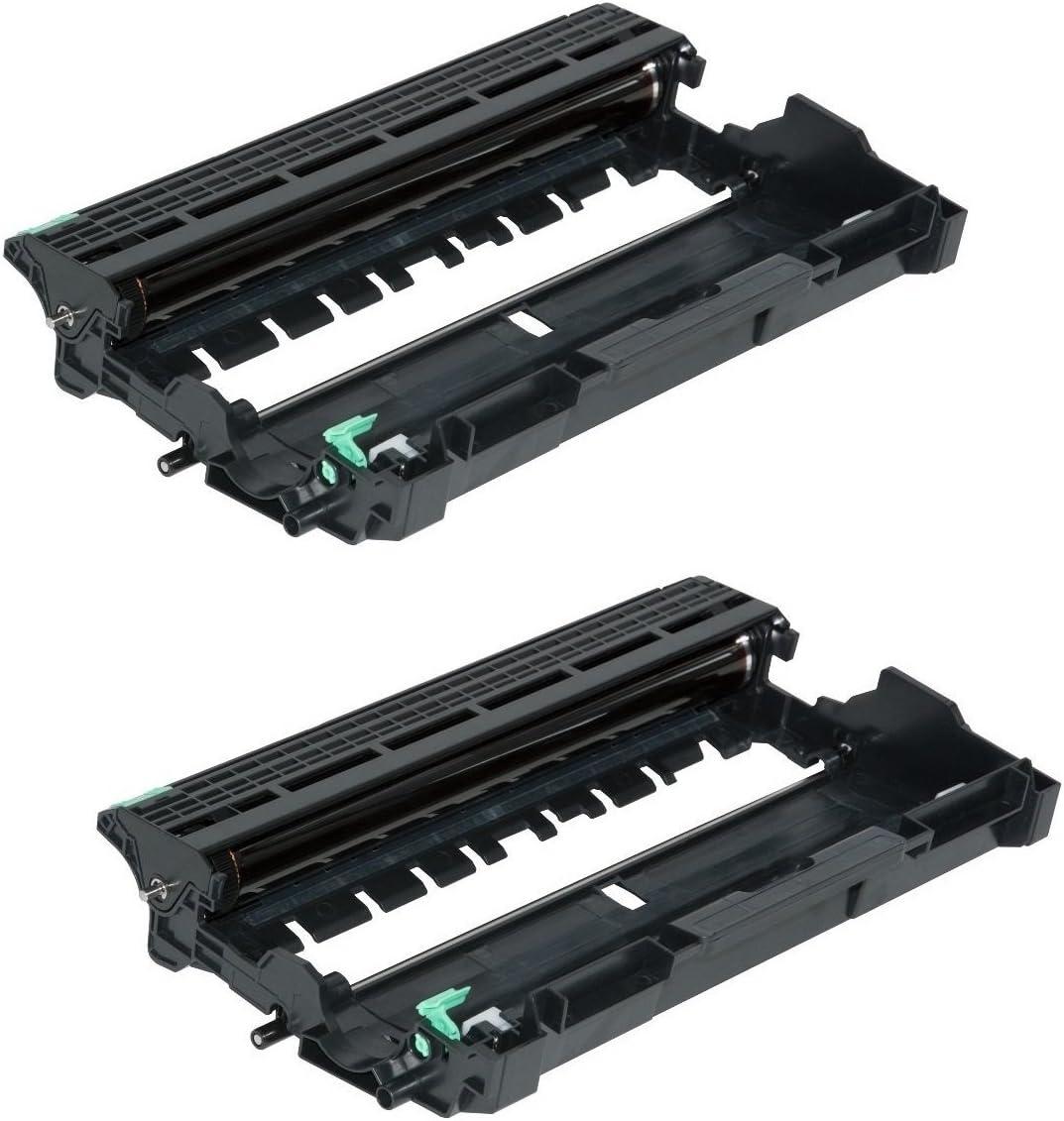 Printing Pleasure Twin-Pack DR2300 Black Drum Units Compatible with Brother HL-L2300D HL-L2340DW HL-L2360DN HL-L2365DW DCP-L2500D DCP-L2520DW DCP-L2540DN L2560DW MFC-L2700DW MFC-L2720DW MFC-L2740DW