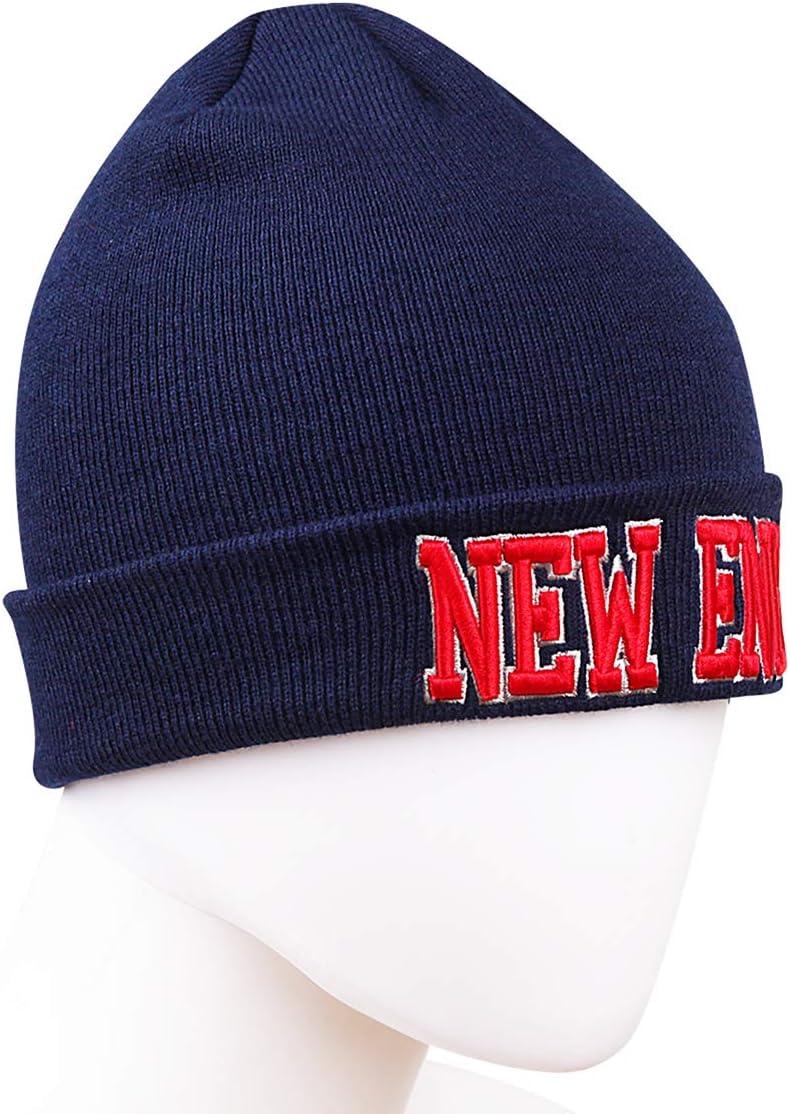 Soft Stretch Football Cuffed Winter Thick Hats Skiing Beanies LEMOISTARS Classic Knit Beanie Hat for Women Men