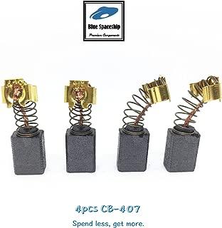 4pcs longlife CB407 Carbon Brush replacement for Makita CB407, CB419, 191962-4, 191927-6, 195007-0 (4 pcs/pack)