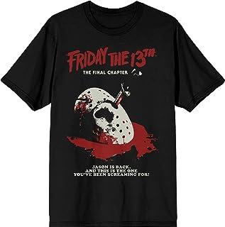 Bioworld Friday 13th Final Chapter Poster Men's T-Shirt