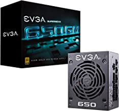 EVGA SuperNOVA 650 GM, 80 Plus Gold 650W, Fully Modular, ECO Mode with DBB Fan, 7 Year Warranty, Includes Power ON Self Tester, SFX Form Factor, Power Supply 123-GM-0650-Y1