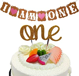 Baby First Birthday Cake Topper Decoration -