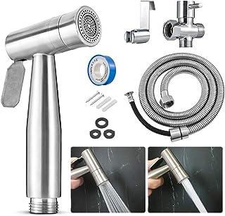 KATUR Bidet Sprayer for Toilet,【2020 New Version】Dual Function Sprayer (Stream/Jet) Handheld Water Bidet Sprayer Kit, Hand...