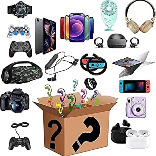 Mistry box electronics gift liquidation boxes returns pallets for sale unclaimed packages bulk blind surprise small electr...