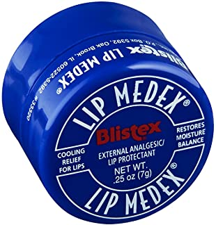 Blistex Lip Medex 0.25 Ounce (12 Pieces) Jar (7ml)