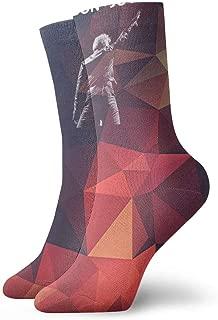 MatthewConnersw Unisex Woman's Mens Bon Jovi Music Band Socks Sports Socks Novelty Dress Crew Socks Gift