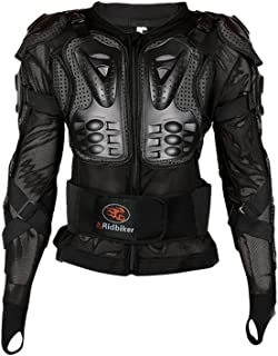 Ridbiker Motorcycle Full Body Armor Protector Removable...