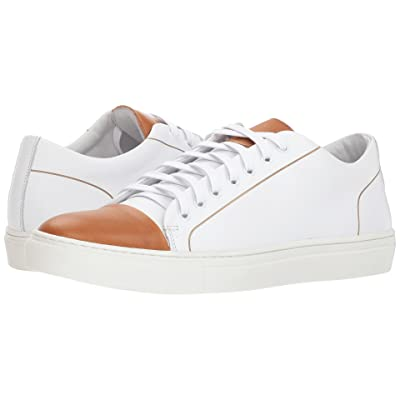 Kenneth Cole New York Hensley Low (White/Cognac) Men