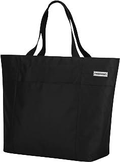 anndora XXL Shopper schwarz - Strandtasche Schultertasche Einkaufstasche