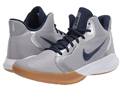 Nike Precision III (Light Smoke Grey/Midnight Navy) Men