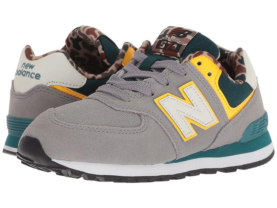 New Balance Kids PC574v1 (Little Kid) (Marblehead/Jade) Boys Shoes
