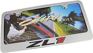 Chevrolet Camaro ZL1 Chrome Metal License Plate Frame