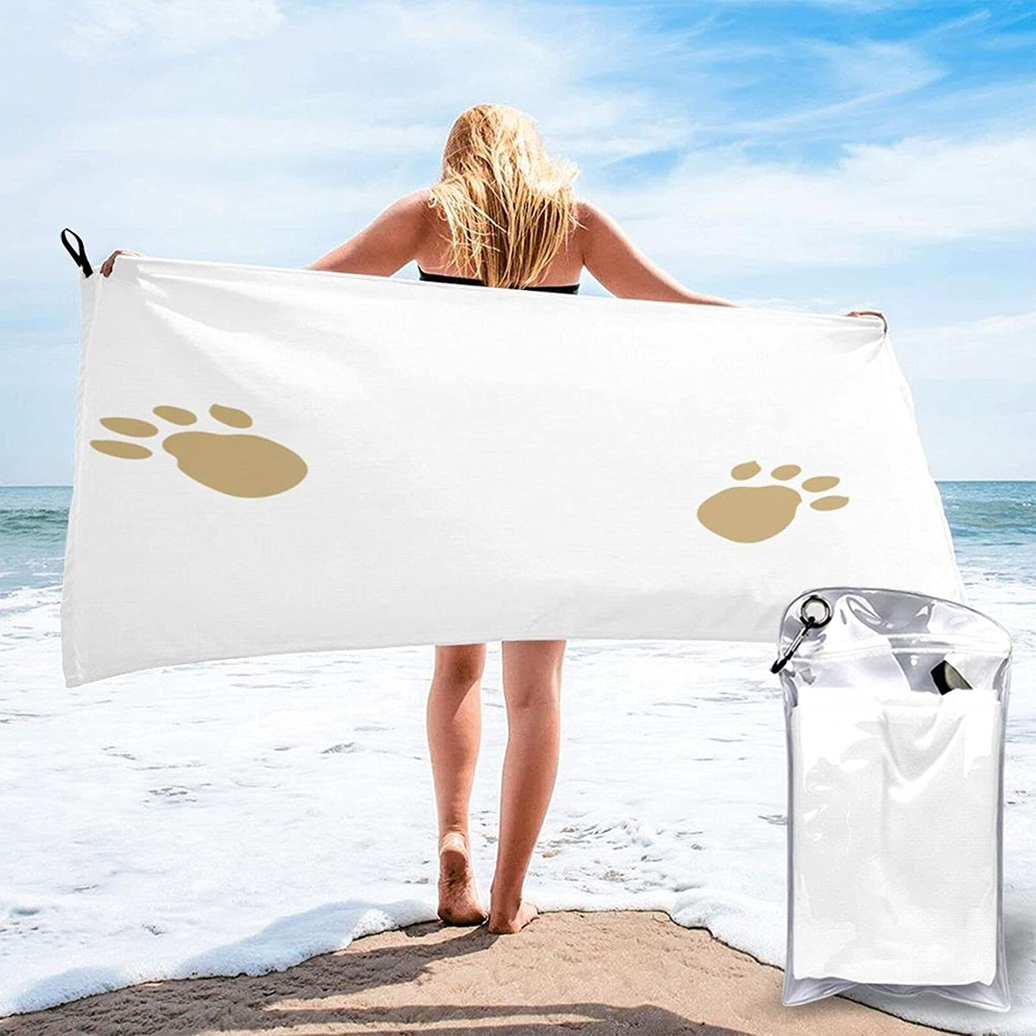 Life is 25% OFF Better with A Award Dog Beach Microfibre Travel Pool Towels Qu