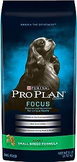 Purina Pro Plan Small Breed Dry Dog Food, Focus Small Breed Formula - 6 lb. Bag
