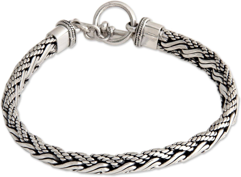NOVICA .925 Sterling Silver 8.75