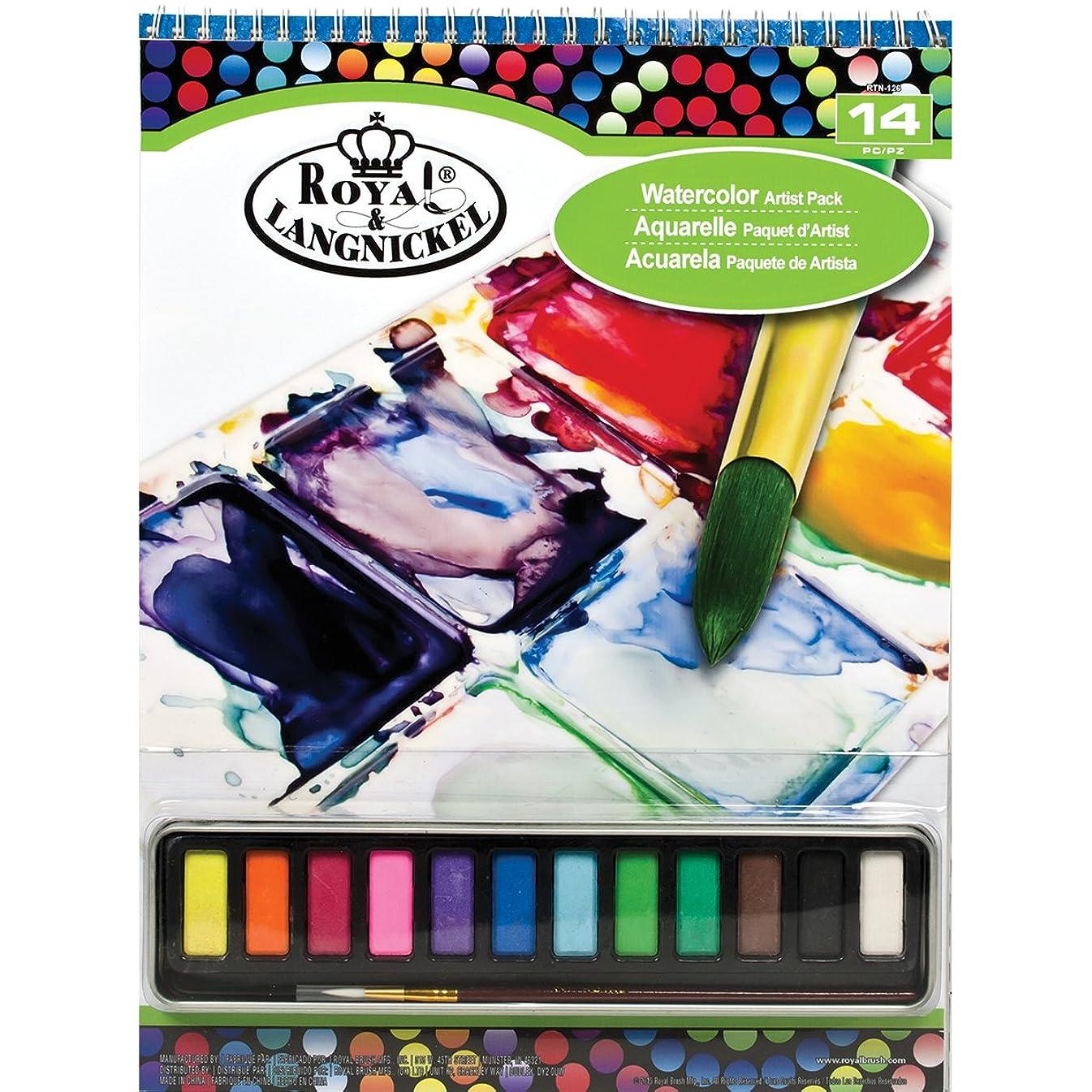 ROYAL BRUSH RTN-126 Watercolor Artist Pack-