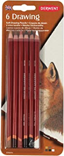 Derwent Colored Drawing Pencils, 5mm Core, Pack, 6 Count (0700476)