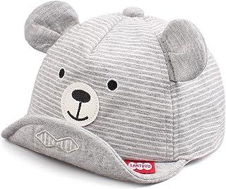 Mignon Ours Bébé Casquette Printemps été Chapeau pour Enfant Coton Soleil Casquette Garçon Fille de 6 à 24 Mois