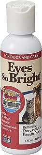 Ark Naturals Eyes So Bright Gentle Eye Wash for Dogs, Remove Debris and Encrustations, Natural Botanicals, 4 oz Bottle