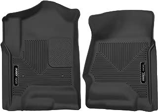 Husky Liners 53111 Black X-act Contour Front Floor Liners Fits 2014-18, 2019 Chevrolet LD/GMC 1500, 2015-19 Silverado/Sierra 2500/3500