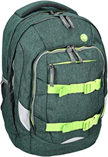 Spirit 407086 Urban - Bolsa escolar, color verde neón