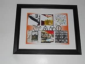 Framed Led Zeppelin Album Art 1968-'75 I, II, III, IV Physical Graffiti 14