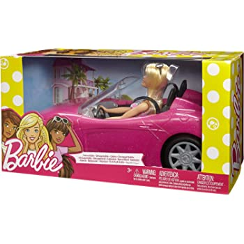 バービー(Barbie) バービーとおでかけ! かわいいピンクのクルマ 【着せ替え人形・ハウス 3才~】 FPR57